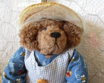 Bear rag doll~Miss Beasley
