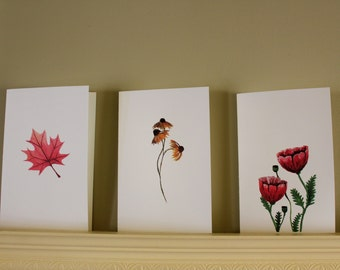 Three Greeting Cards - Limited Signed Prints