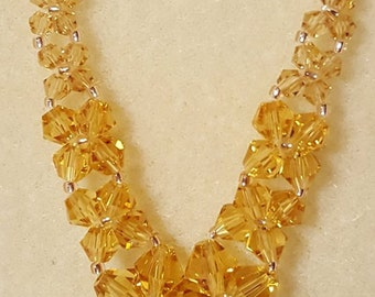 Swarovski Graduated Crystal Necklace