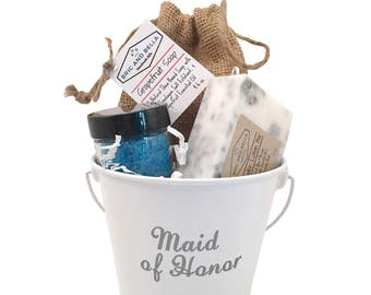 ONE Maid of Honor Proposal Box - Matron of Honor gift - will you be my maid of honor gift - bridal party gift - Asking maid of honor