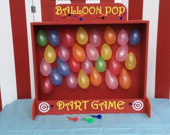 Fish bowl toss carnival game target gallery company picnic for Target fish bowl