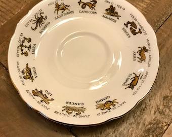 Zodiac Signs Astrology Jewelry Dish