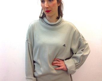 Vintage Adidas Turtleneck Sweater