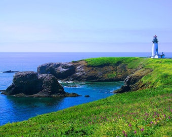 Yaquina Head Lighthouse - Canvas Gallery Wrap