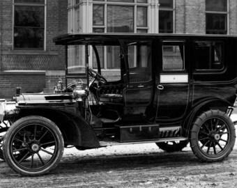 """1910-1920 Packard Automobile Vintage Photograph 13"""" x 19"""""""