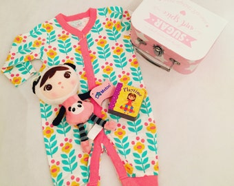 Panda Metoo Doll Suitcase Hamper