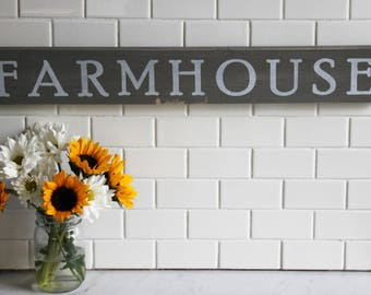 Farmhouse, wood sign, rustic, gifts for her, housewarming, just because