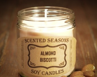 7 oz. All-Soy Almond Biscotti Scented Candle