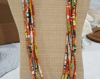 Sunnyside beaded necklace