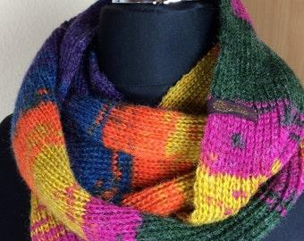Loop, colorful scarf