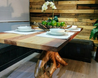 Hand made dining table. 1/2 price!  SALE