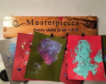 Kids Art Display / Brag Board