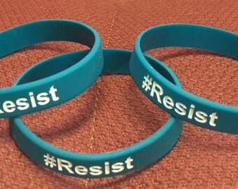 Resist Silicone Bracelet
