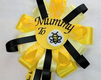 Mummy To Be Corsage Rosette