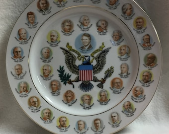 Presidents of the United States Collector Plate - Carter (#014)