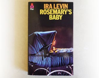Ira Levin - Rosemary's Baby - Pan horror vintage paperback book - 1968
