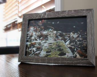 Mossy Brick Framed Photo