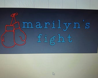 marilyn's fight decals
