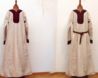 Dress, linen, medieval, Viking, RUS, Slaven, reenact, LARP, children, Gr. 140