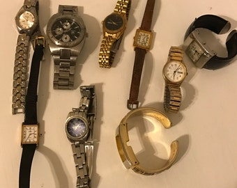 Crafeters watch lot for parts or repair
