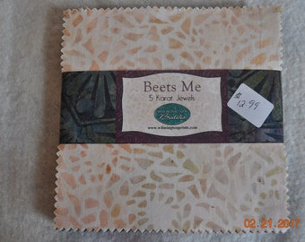 Beets Me 5x5 inch Charm Pack