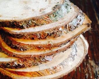 Wood slices (Oval)
