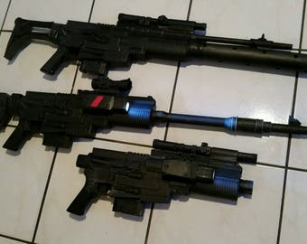 Rogue One Rebel Trooper style NERF gun blasters