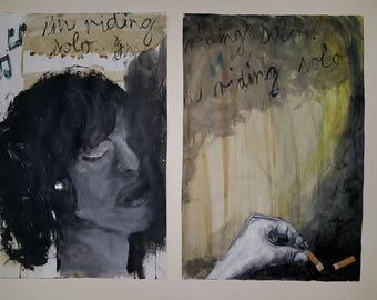 Print of painting series