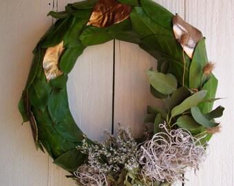 Laurel leaf wreath- Sidney