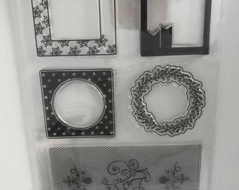 Silicone moulds-Clear stamps
