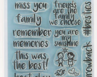 Mama Makes Stamps - Forever Memories - 19 Stamps