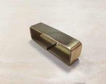 Brass Belt Keeper