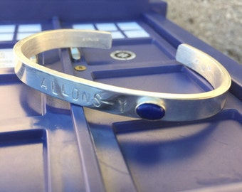 Sterling Silver Cuff Bracelet Doctor Who