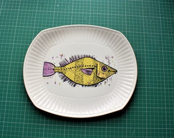 Aquarius Fish Plate