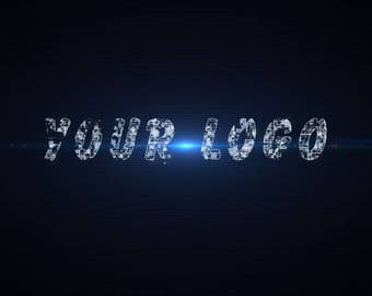 Nerve impulse of the logo, Video Intro or Outro