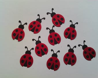Die Cut Ladybirds