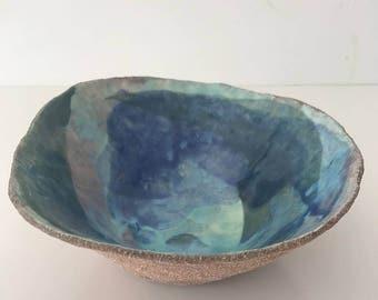 Hand built Ceramic bowl | FREE SHIPPING