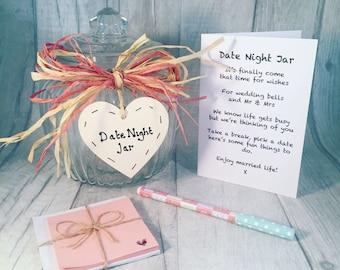 Date Night Jar - Great Hen Party Idea