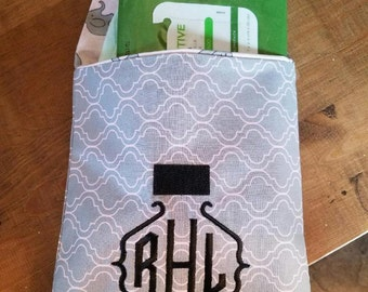 Personalized Grab and Go Diaper and Wipe Carrier