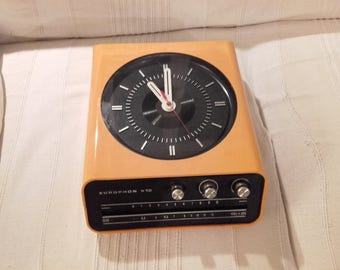 the clock radio EUROPHON di Milano