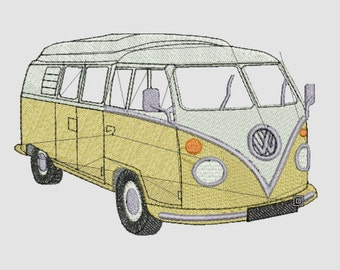 Motive embroidery Combi vw