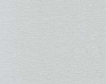 Light Grey Cotton Jersey Knit // Knit Fabric