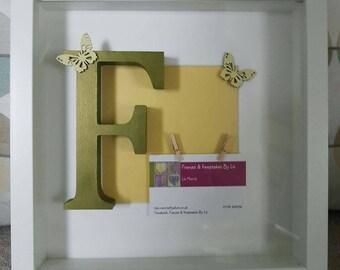 Handmade Business Card Frames