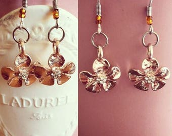 Fantasies dressed Flower Earrings