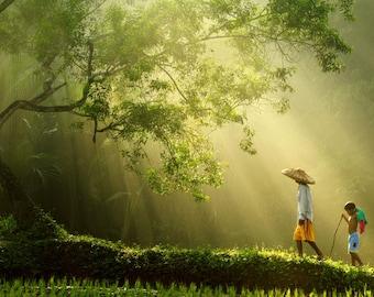 Download picture Rarindra Prakarsa PADDY MAN CHILD of art photographer
