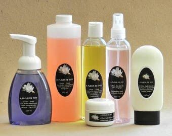 C: SOAP refill liquid - all in one - organic handmade 16 oz / 500 ml rug