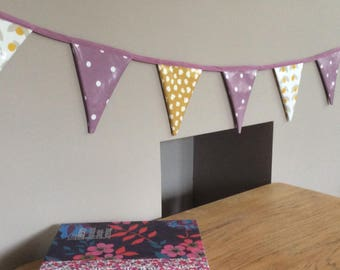 Outdoor Bunting, Double Sided Bunting, Garden Bunting, Showerproof Bunting, Garden Decoration, Garden Garland