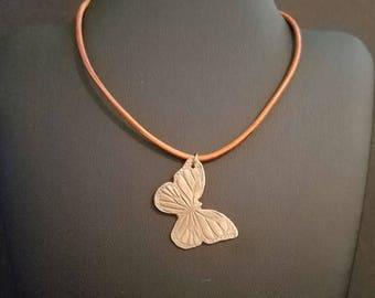 Butterfly - 31mmx22mm Hand Sculpted Bronze