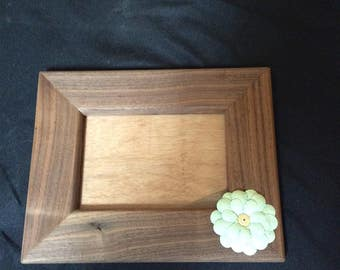 5x7 Solid Walnut Frame