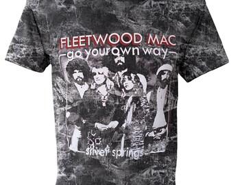 FLEETWOOD MAC Rock Stone Washed T-shirt E-177